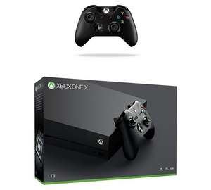 Argos - Xbox one X with extra controller and 2 games (Gears of War 4 and Quantum Break) £449.99