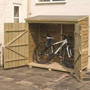 Buckthorn 6 x 3 Wooden Bike Shed £134.99 @ Wayfair