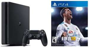 Sony PS4 Black 1TB with Fifa 18 £272.30 @ eBuyer