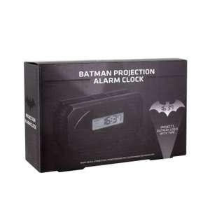 Batman projection alarm clock £14.99 + free delivery WC @ internet gift store