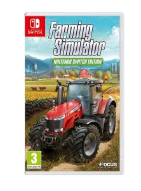 Farming Simulator (Nintendo Switch) £22.99 @GraingerGames (BRAND NEW & SEALED)