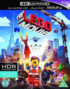 The Lego Movie 4K Ultra HD Blu-Ray £6.39 Amazon sold by Grizzi, fulfilled by Amazon (+£1.99 for Non-Prime)