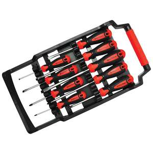 Eurocarparts  masterpro 9 piece screwdriver set was £29.99 now £9.01 with code!