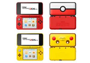 New Nintendo 2DS XL Poké Ball OR Pikachu Edition approx £106-£110 delivered @ Amazon DE