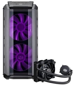 Cooler Master MasterCase H500P RGB Computer Case + Free AIO MasterLiquid 120 cooler £134.99 @ Box