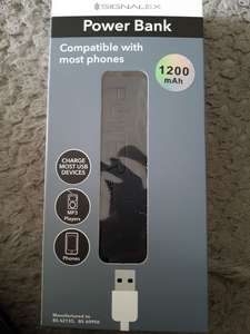 Phone power bank, signalex £1 @ Poundland Worcester