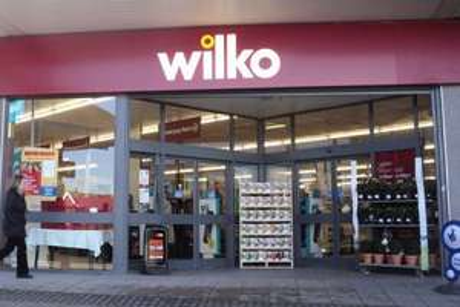 "Pencil pleat curtains 46x54"" £2 @ Wilko - Sheffield Haymarket"