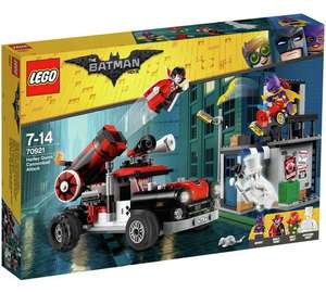 Harley Quinn™ Cannonball Attack (70921) £37.39 @ Amazon