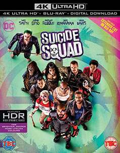 Suicide squad 4K UHD £11.99 prime / £13.98 non prime Sold by Grizzi and Fulfilled by Amazon