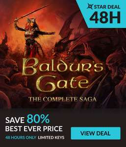 [Steam] Baldur's Gate: The Complete Saga - £8.09 - Fanatical