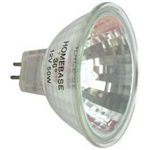 Halogen MR16 50W Light Bulb - Pack of 6 £1 @ Hombase