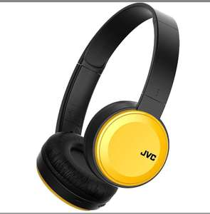 JVC Bluetooth On-Ear Headphones with Compact Folding Design, Yellow , for £20.06 delivered @7dayshop