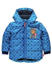 Paw Patrol padded hooded puffer coat all sizes 2-3,3-4,4-5,5-6 £9.99 @ Argos (C&C)
