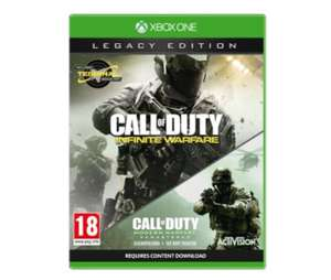 Call of Duty: Infinite Warfare Legacy Edition Xbox one - £10 Tesco Direct