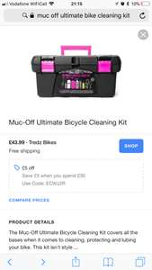 Muc-off ultimate bicycle cleaning kit - £38.99 (with code) @ Tredz