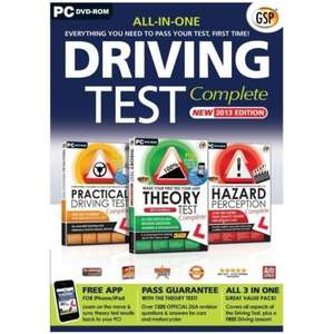 Driving Test Complete 2013 Edition PC  @ 365Games for £0.28p free delivery
