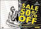 Up to 50% off NUFC Offical Mechandise
