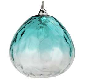 Heart of house Rockford glass ombre lampshade -teal £13.99 at Argos