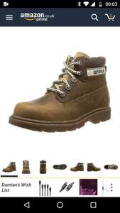 Boys Caterpillar boots, RRP £69.99... size 13.5 only £15.16 Prime / £19.91 Non Prime @ Amazon