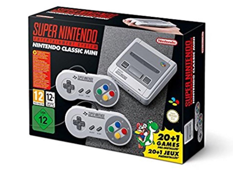 Super Nintendo Classic Mini (used like new) £53.75 @ Amazon Warehouse Deals