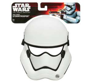 Star Wars: The Force Awakens Mask - Kylo Ren and Stormtrooper available @ argos for £1.49 each free C&C