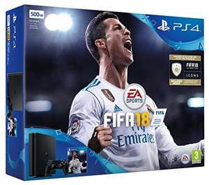 Like New  Sony PS4 500 GB FIFA 18 Bundle with FIFA 18 Ultimate Team Icons and Rare Player Pack £175.87 at checkout @ Amazon Warehouse