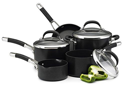 Circulon Premier Professional Hard Anodised Cookware Set , Black - 5 Piece..£99.99 .Amazon