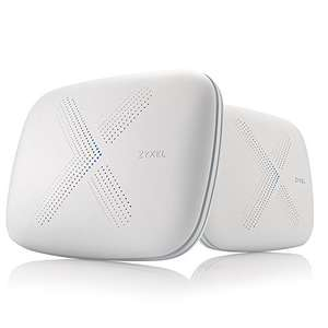Zyxel Multy X AC3000 Tri-Band WiFi Mesh Network (twin pack) £249 Sold by Zyxel Communications UK Ltd. and Fulfilled by Amazon