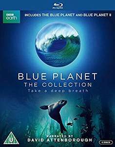 Blue Planet: The Collection [Blu-ray] £19.99 (Prime) / £21.98 (non Prime) at Amazon