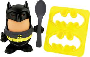 Superhero Egg Cup & Toast Cutter Sets (4 to choose from) £3.99 + Free Delivery @ Aldi