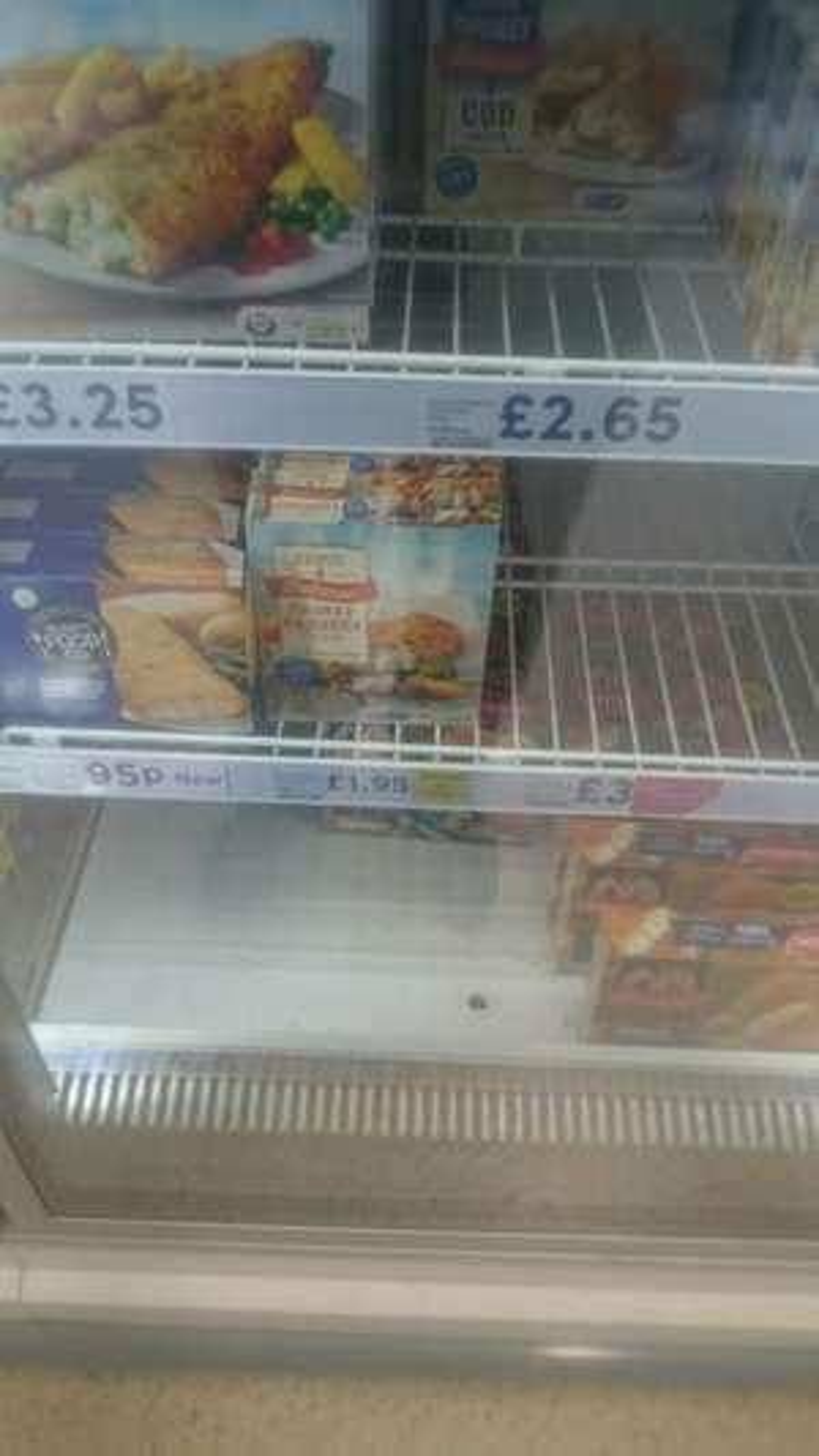 4 chunky haddock fillets £1.95 instore @ Tesco - Wisbech
