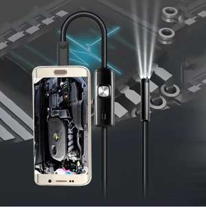 3.5m Mini Android Endoscope with Waterproof IP67 and Inspection Snake Tube Camera £2.82 Delivered w/ code @ RoseGal