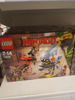 Lego 70629 ninjago set to £5.50 instore at asda hunts cross