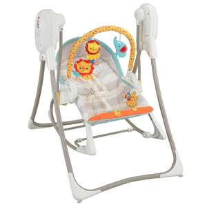 Fisher-Price 3-in-1 Swing-n-Rocker £62.39  delivered at Amazon ( £97.50 at Tesco / £119 at Argos)