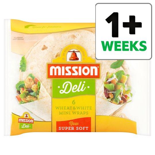Mission Deli Original Mini Wraps 6 Pack // Mission Deli Wheat And White Mini Wraps 6 Pack 50p @ Tesco from 20/3