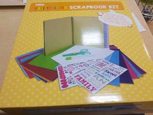 Asda make your own scrap book kit £1.25 @ Asda - Hunts cross