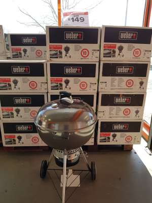 Weber master touch bbq £149 instore - Stockport B&Q