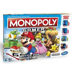 Monopoly Gamer Edition from Amazon Warehouse (Used - Very Good & Like New) from £11.48 / £12.14 delivered with Prime (non Prime + £4.75)