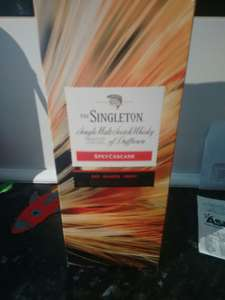 The singleton Speyside Whisky reduced to clear Asda Weymouth £12.50