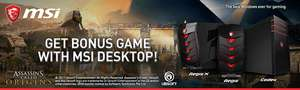 MSI AEGIS Gaming PC - Intel Core i5-6400 2.7GHz, 16GB RAM + 1TB HDD + 256GB SSD, NVIDIA GeForce GTX1070 8GB - £999.98 at  Ebuyer