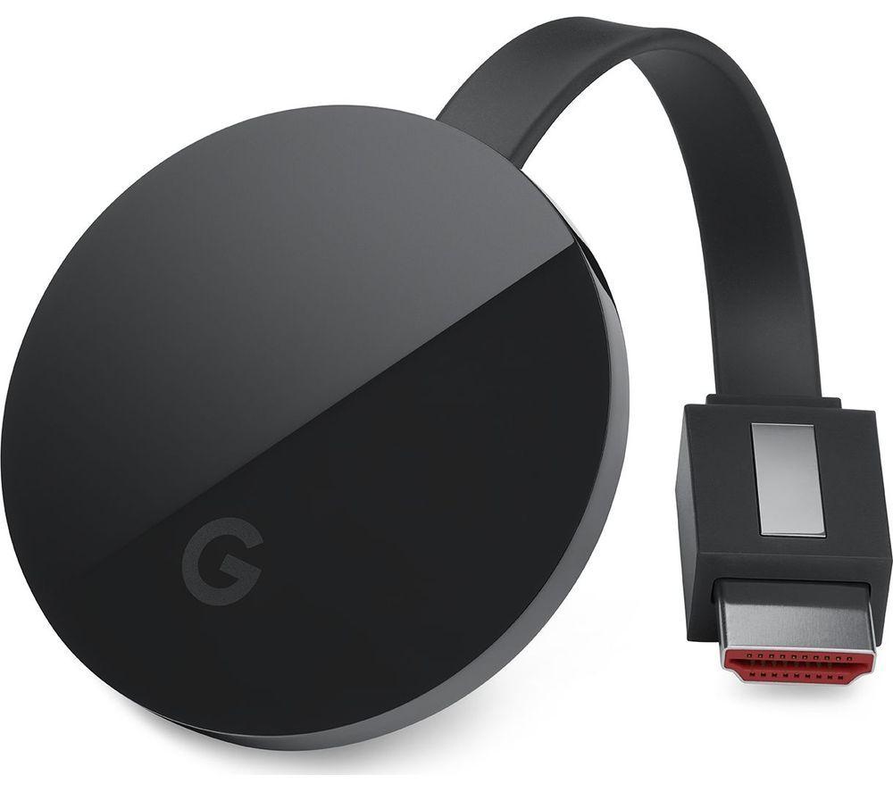 Google Chromecast Ultra £59 @ Currys