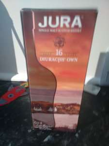 Jura 16 year Diurachs' own Whisky 70cl reduced to clear Asda Weymouth £18.50