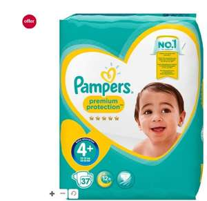 Pampers premium protection 4+ £5 at Boots