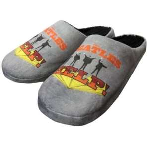 Men's Beatles logo slippers 7-8, 11-12 ( others in post ) £5.99 free delivery WC @ internetgiftstore