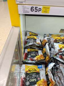 McCains Gastro Chips 700g - 65p In-store Tesco Fox and Goose