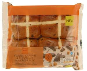 M&S hot cross buns 2 for £2.50 in store