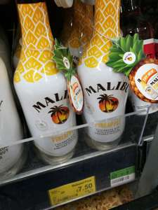 In-store Asda Malibu Pineapple 70cl reduced to £7.50 from £15
