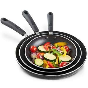 Set of 3 frying pans at Tesco sold by This Is It Stores  only £6.99 / £9.99 delivered
