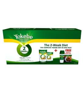 Yokebe 2 week active diet food plan £1 @ Poundland