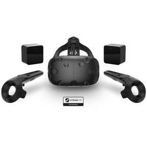 VIVE VR Headset Bundle + Free swag bag £499 / £510.10 delivered @ Overclockers